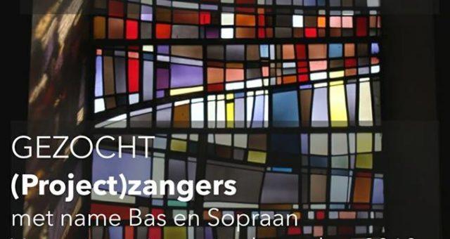(Project)zangers gezocht!